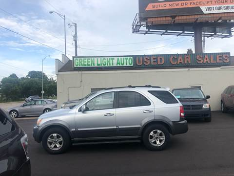 2004 Kia Sorento for sale at Green Light Auto in Sioux Falls SD