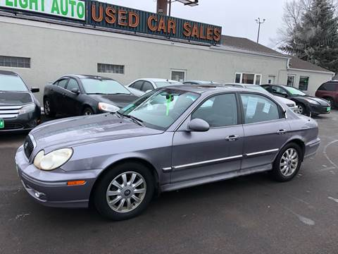 2005 Hyundai Sonata for sale at Green Light Auto in Sioux Falls SD