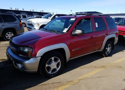 2004 Chevrolet TrailBlazer LT for sale at Green Light Auto in Sioux Falls SD