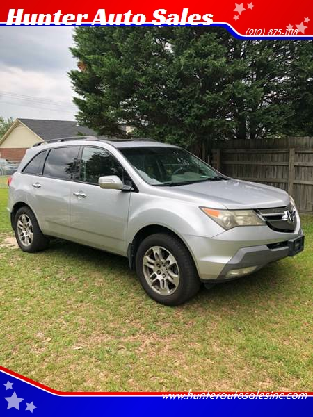 Acura MDX SHAWD WTech In Raeford NC Hunter Auto Sales - Acura mdx 2007 for sale