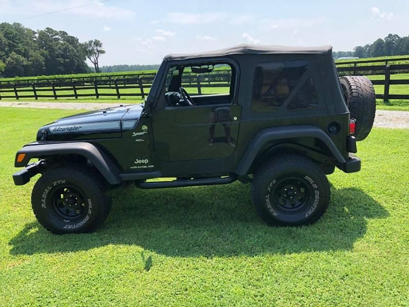 2006 Jeep Wrangler For Sale At Performance Auto Center Inc In Benson NC
