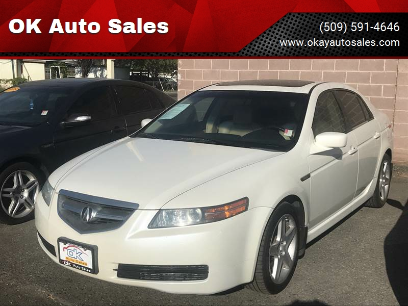 Acura TL WNavi In Kennewick WA OK Auto Sales - Acura tl 2006 for sale