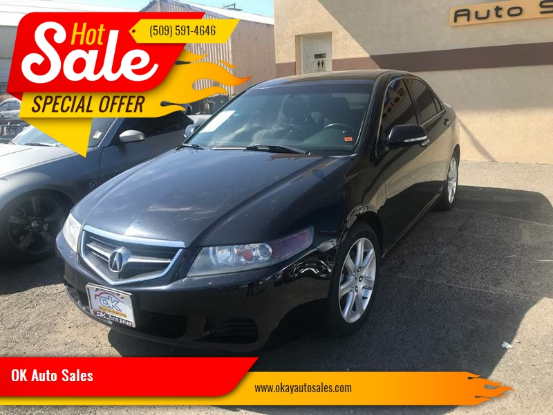 Acura TSX WNavi In Kennewick WA OK Auto Sales - Acura tsx 2004 for sale