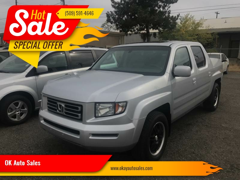 2006 Honda Ridgeline For Sale At OK Auto Sales In Kennewick WA