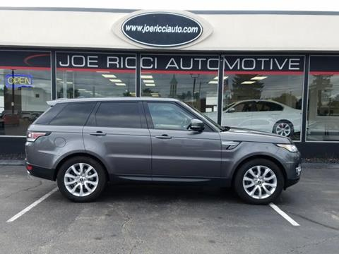 2015 Land Rover Range Rover Sport for sale in Shelby Township, MI