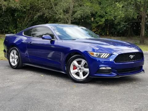 2015 Ford Mustang for sale in Miramar, FL