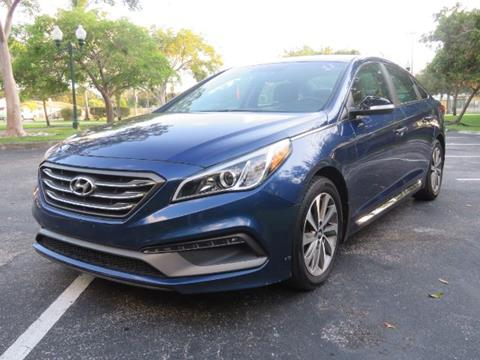 2015 Hyundai Sonata for sale in Miramar, FL