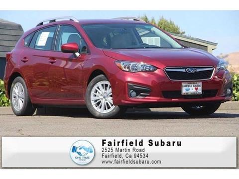 2018 Subaru Impreza for sale in Fairfield, CA