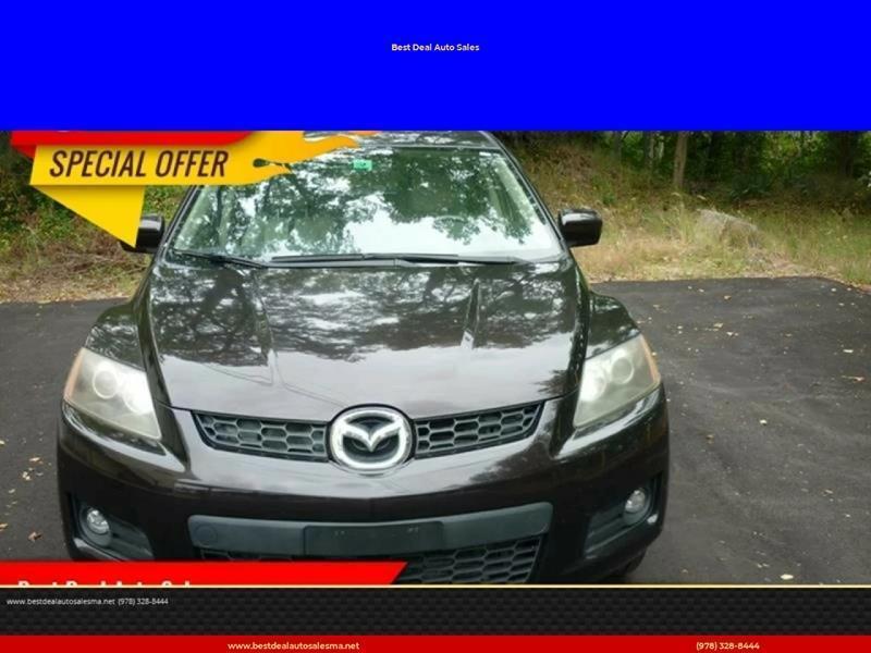 2008 Mazda CX-7 for sale at Best Deal Auto Sales in Abington MA