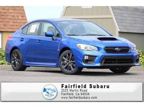 2018 Subaru WRX for sale in Fairfield, CA