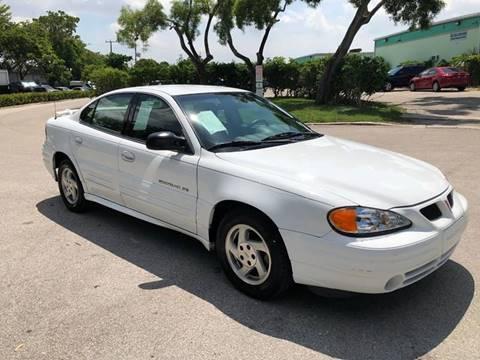 2000 Pontiac Grand Am for sale in Margate, FL