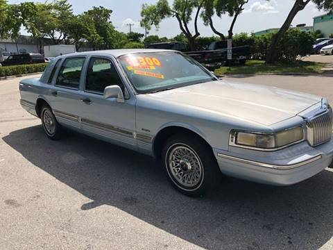 1997 lincoln town car  1997 Lincoln Town Car For Sale in Rogers, AR - Carsforsale.com®