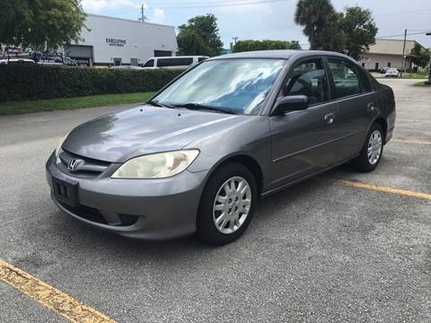 2005 Honda Civic for sale in Margate, FL