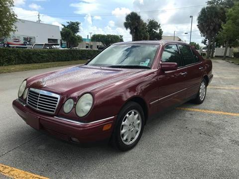 1999 Mercedes-Benz E-Class for sale in Margate, FL