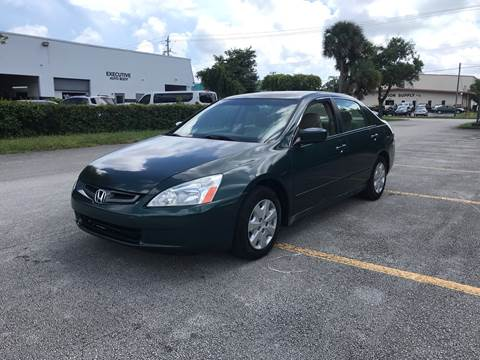 2003 Honda Accord for sale in Margate, FL