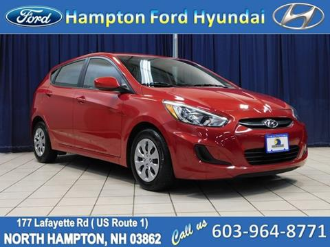 2017 Hyundai Accent for sale in North Hampton, NH