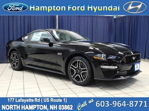 2019 Ford Mustang for sale in North Hampton, NH