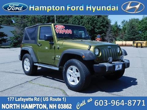 2007 Jeep Wrangler for sale in North Hampton, NH