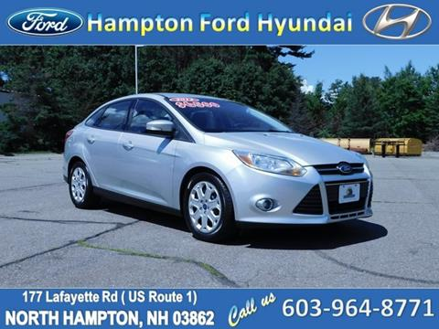 2012 Ford Focus for sale in North Hampton, NH