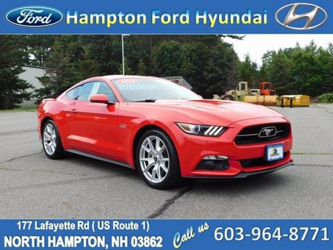 2015 Ford Mustang for sale in North Hampton, NH