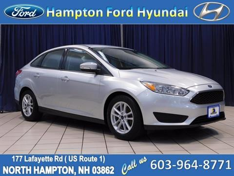 2017 Ford Focus for sale in North Hampton, NH