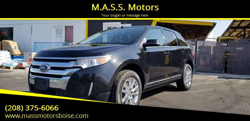 Ford Edge For Sale At M A S S Motors In Boise Id