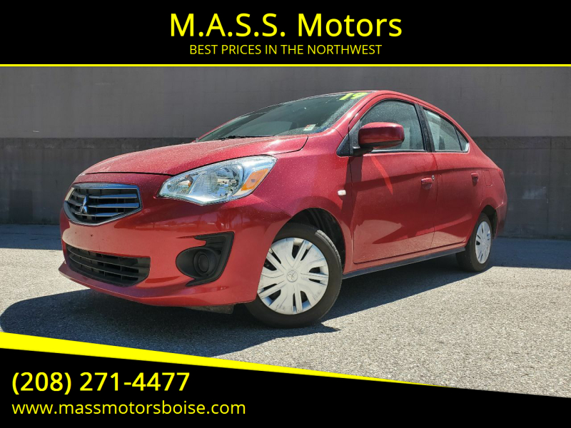 2019 Mitsubishi Mirage G4 for sale at M.A.S.S. Motors in Boise ID