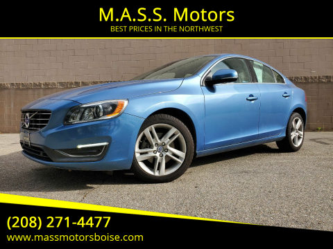 2015 Volvo S60 for sale at M.A.S.S. Motors in Boise ID