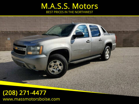 2007 Chevrolet Avalanche for sale at M.A.S.S. Motors in Boise ID