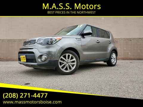 2017 Kia Soul for sale at M.A.S.S. Motors in Boise ID