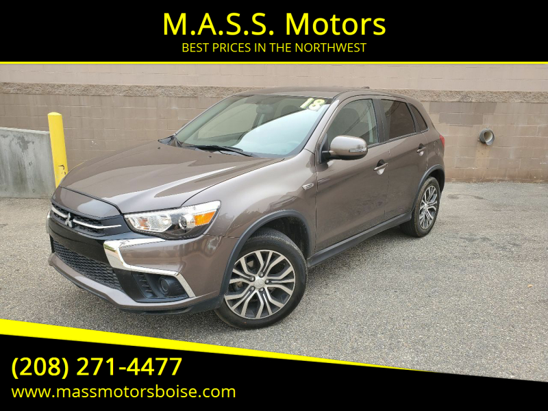 2018 Mitsubishi Outlander Sport for sale at M.A.S.S. Motors in Boise ID