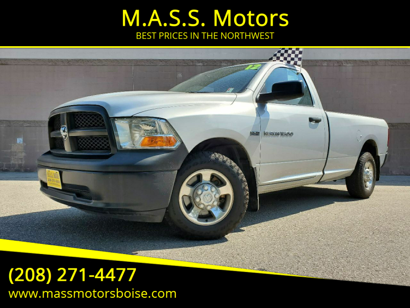 2012 RAM Ram Pickup 1500 for sale at M.A.S.S. Motors in Boise ID