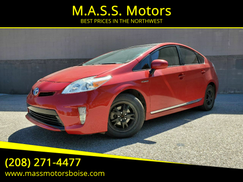 2015 Toyota Prius for sale at M.A.S.S. Motors in Boise ID