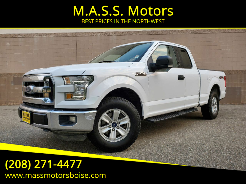 2015 Ford F-150 for sale at M.A.S.S. Motors in Boise ID
