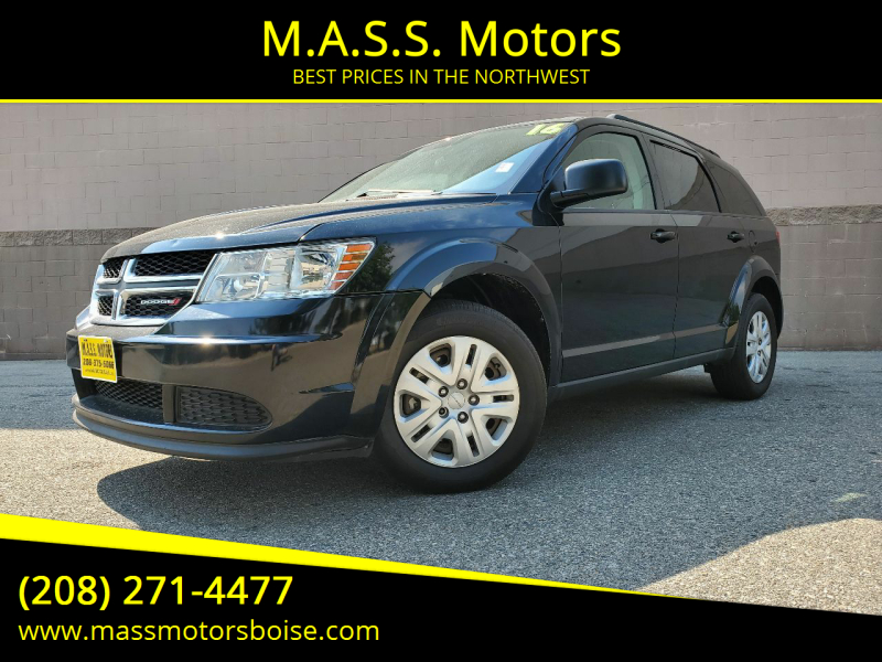 2016 Dodge Journey for sale at M.A.S.S. Motors in Boise ID