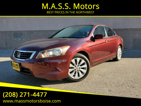 2008 Honda Accord for sale at M.A.S.S. Motors in Boise ID