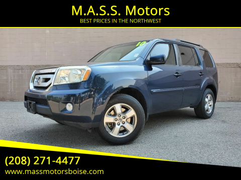 2010 Honda Pilot for sale at M.A.S.S. Motors in Boise ID