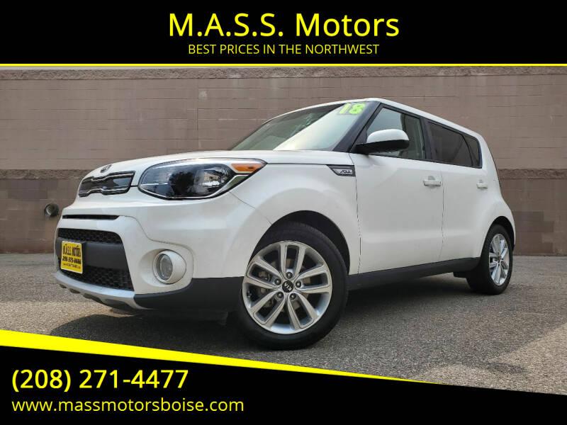 2018 Kia Soul for sale at M.A.S.S. Motors in Boise ID