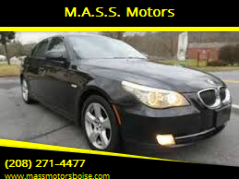 2008 BMW 5 Series for sale at M.A.S.S. Motors in Boise ID