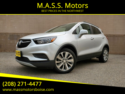 2017 Buick Encore for sale at M.A.S.S. Motors in Boise ID