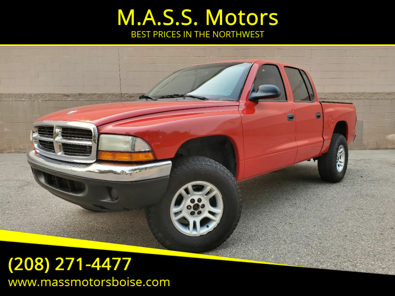 2002 Dodge Dakota for sale at M.A.S.S. Motors in Boise ID