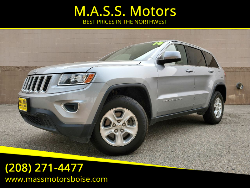 2014 Jeep Grand Cherokee for sale at M.A.S.S. Motors in Boise ID