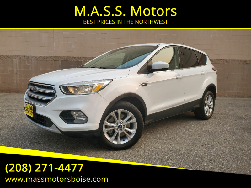 2017 Ford Escape for sale at M.A.S.S. Motors in Boise ID