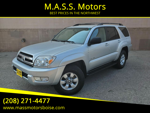 2005 Toyota 4Runner for sale at M.A.S.S. Motors in Boise ID