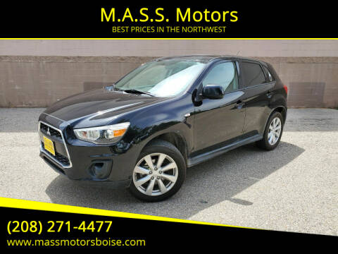 2015 Mitsubishi Outlander Sport for sale at M.A.S.S. Motors in Boise ID