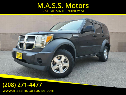 2007 Dodge Nitro for sale at M.A.S.S. Motors in Boise ID