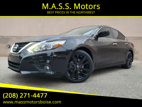 2017 Nissan Altima for sale at M.A.S.S. Motors in Boise ID