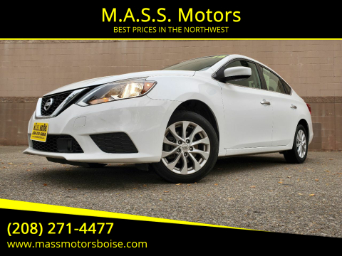 2018 Nissan Sentra for sale at M.A.S.S. Motors in Boise ID