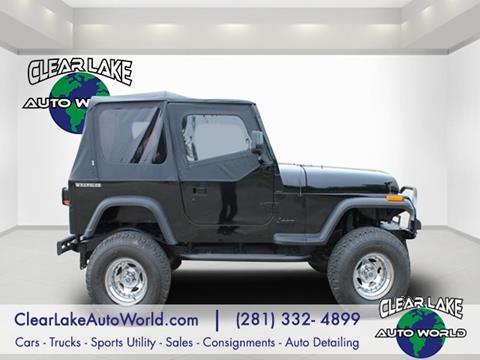 1987 Jeep Wrangler for sale in League City, TX