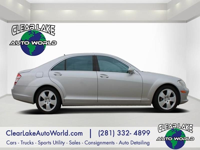 2007 Mercedes Benz S Class For Sale At Clear Lake Auto World In League